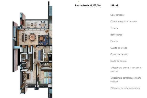 Foto de departamento en venta en  , temozon norte, mérida, yucatán, 7518310 No. 03