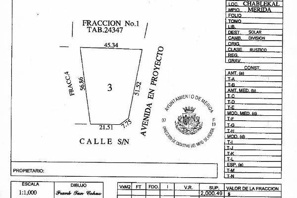 Foto de terreno habitacional en venta en  , temozon norte, mérida, yucatán, 0 No. 05