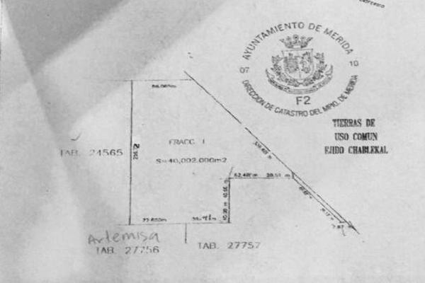 Foto de terreno habitacional en venta en  , temozon norte, mérida, yucatán, 7861290 No. 04