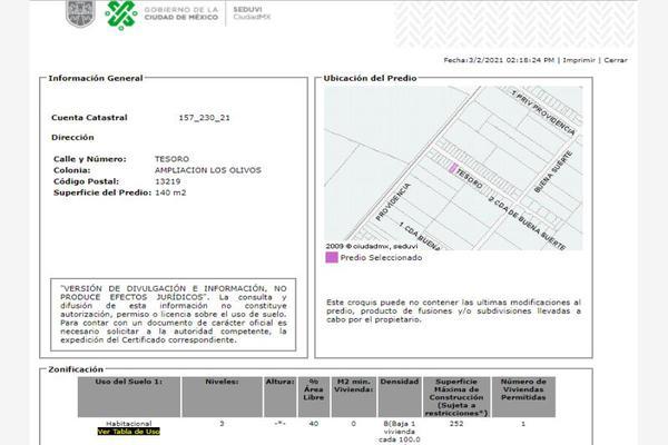Foto de casa en venta en tesoro 0, ampliación los olivos, tláhuac, df / cdmx, 19113146 No. 04