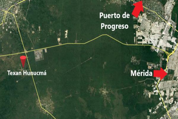 Foto de terreno industrial en venta en texan de palomeque, en hunucmá yucatán , texan palomeque, hunucmá, yucatán, 7507404 No. 01