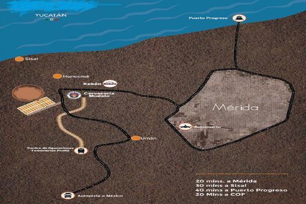 Foto de terreno industrial en venta en  , texan palomeque, hunucmá, yucatán, 15316284 No. 02