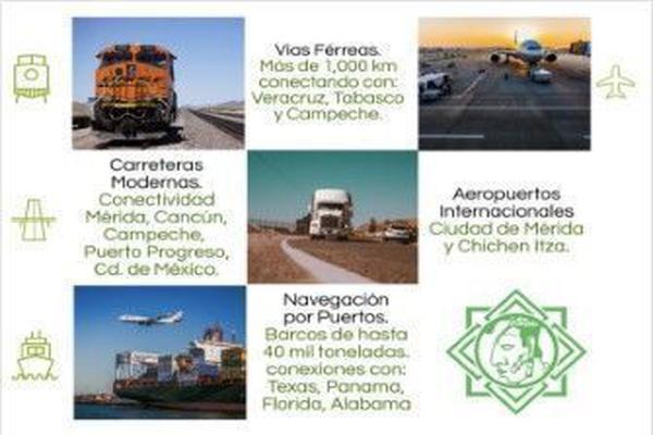 Foto de terreno industrial en venta en  , texan palomeque, hunucmá, yucatán, 15356796 No. 03