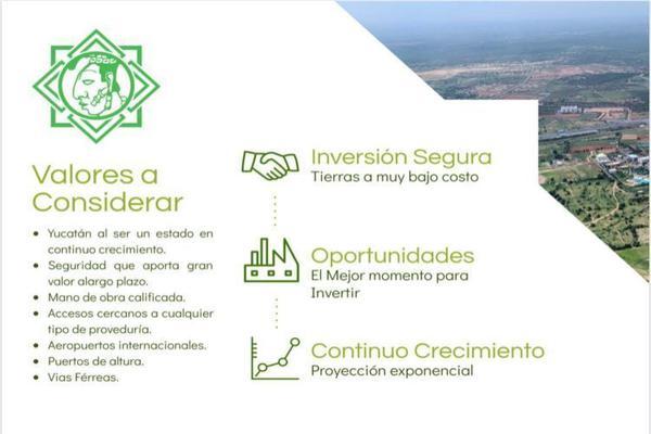 Foto de terreno industrial en venta en  , texan palomeque, hunucmá, yucatán, 15356796 No. 04