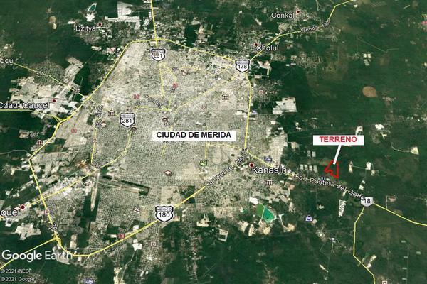 Foto de terreno habitacional en venta en  , teya, kanasín, yucatán, 0 No. 02