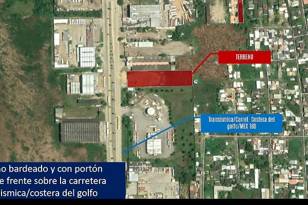 Foto de terreno habitacional en venta en  , tierra nueva, coatzacoalcos, veracruz de ignacio de la llave, 5694362 No. 07