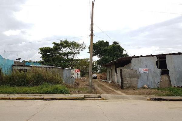 Foto de terreno habitacional en venta en  , tierra nueva, coatzacoalcos, veracruz de ignacio de la llave, 8071050 No. 02