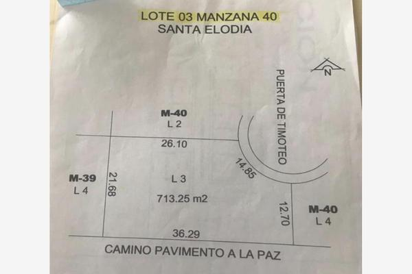 Foto de terreno habitacional en venta en timoteo 3, las trojes, torreón, coahuila de zaragoza, 19399069 No. 02