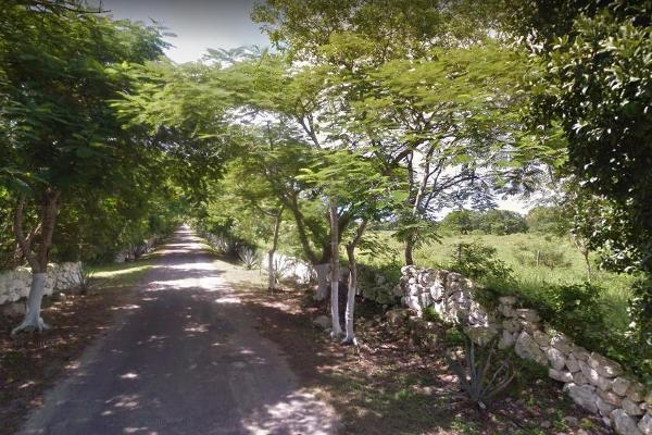 Foto de terreno habitacional en venta en  , tixkuncheil, baca, yucatán, 0 No. 08