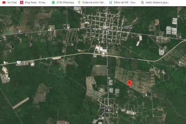 Foto de terreno habitacional en venta en  , tixkuncheil, baca, yucatán, 0 No. 11