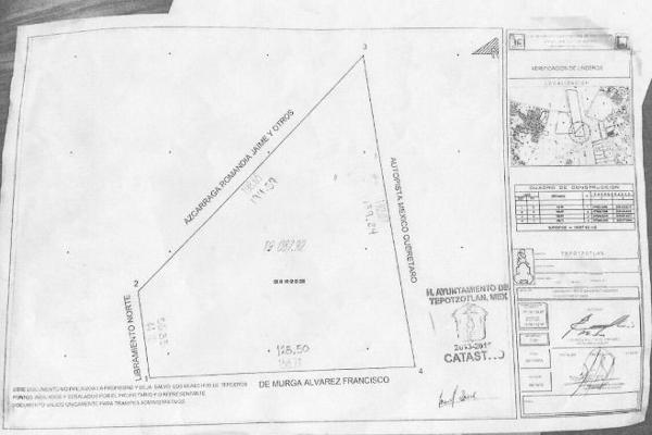 Foto de terreno industrial en venta en  , tlacateco, tepotzotlán, méxico, 3162298 No. 04