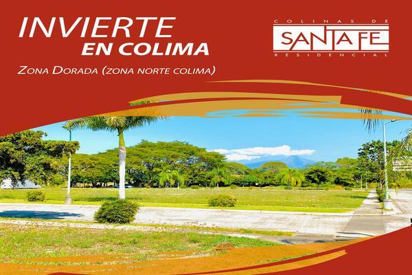 Foto de terreno habitacional en venta en tlakamakán , colinas de santa fe, colima, colima, 17171582 No. 01