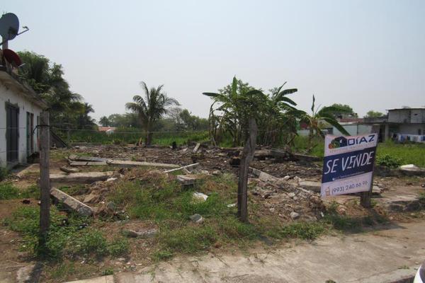 Foto de terreno habitacional en venta en tomas garrido canabal 1, macultepec, centro, tabasco, 7211866 No. 01