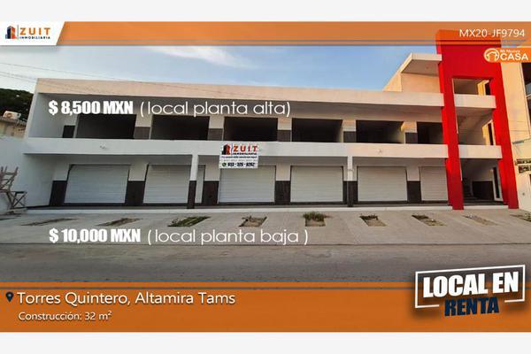 Foto de local en renta en torres quintero 209, altamira centro, altamira, tamaulipas, 18140950 No. 01