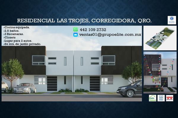 Foto de casa en venta en troje de valparaiso 76, hacienda las trojes, corregidora, querétaro, 8396013 No. 01