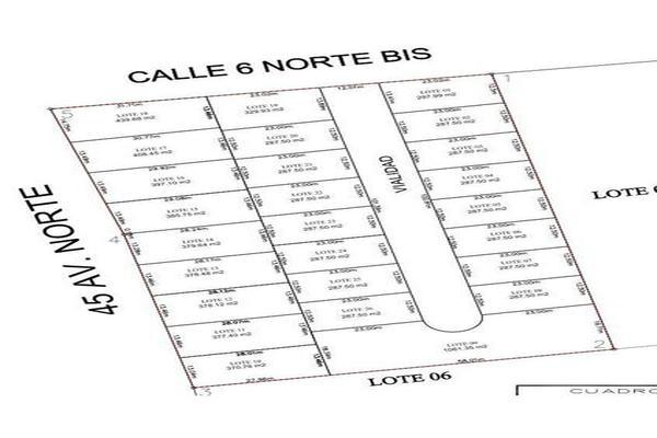 Foto de terreno habitacional en venta en  , tulum centro, tulum, quintana roo, 7860462 No. 02