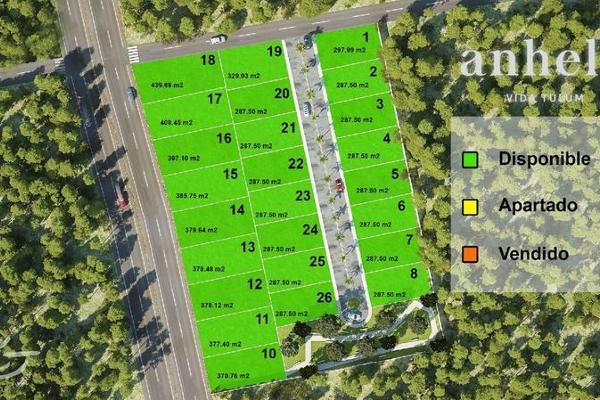 Foto de terreno habitacional en venta en  , tulum centro, tulum, quintana roo, 7861105 No. 02