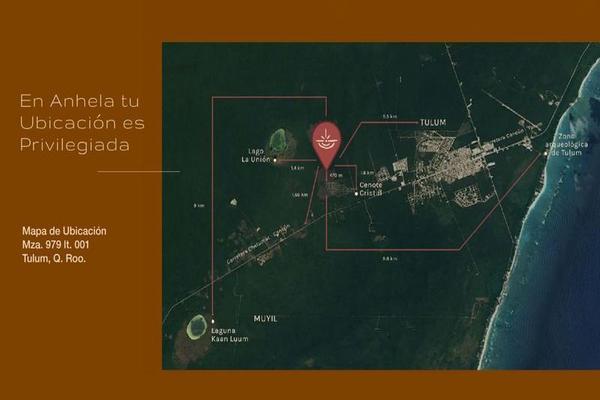 Foto de terreno habitacional en venta en  , tulum centro, tulum, quintana roo, 7861525 No. 05
