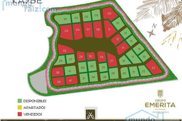 Foto de terreno habitacional en venta en  , tulum centro, tulum, quintana roo, 8285433 No. 02