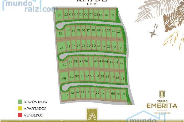 Foto de terreno habitacional en venta en  , tulum centro, tulum, quintana roo, 8285433 No. 10
