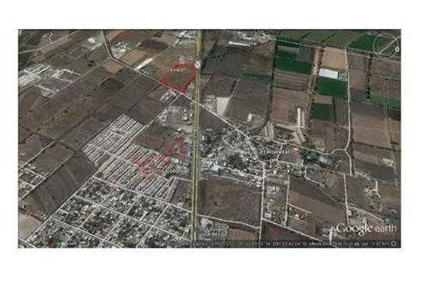 Foto de terreno habitacional en venta en ubicación en el kilometro 12 en la carretera libre a celaya , el milagrito, corregidora, querétaro, 5937145 No. 01