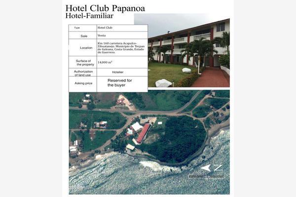 Foto de edificio en venta en ubicación kilometro 160 carretera acapulco- zihuatanejo. 0001, san luis de la loma centro, técpan de galeana, guerrero, 8640982 No. 01