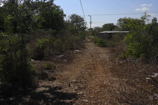 Foto de terreno habitacional en venta en  , ucu, ucú, yucatán, 7974853 No. 03