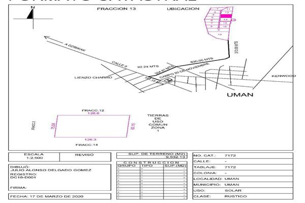 Foto de terreno habitacional en venta en  , uman, umán, yucatán, 14037370 No. 20