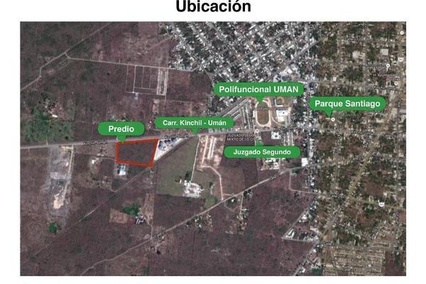 Foto de terreno habitacional en venta en  , uman, umán, yucatán, 7892731 No. 01