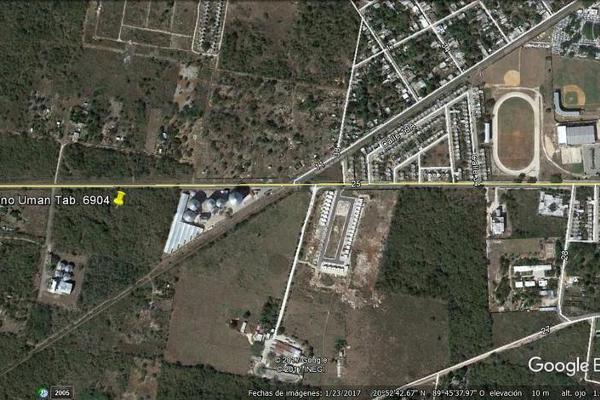 Foto de terreno habitacional en venta en  , uman, umán, yucatán, 7892731 No. 02
