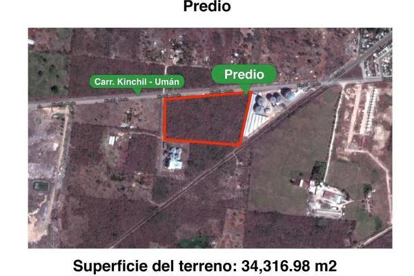 Foto de terreno habitacional en venta en  , uman, umán, yucatán, 7892731 No. 04
