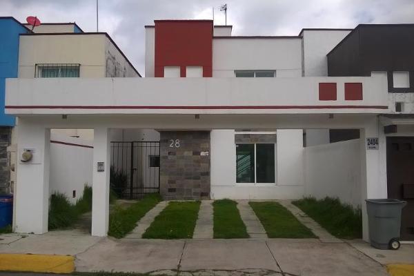 Foto de casa en renta en  , urbano bonanza, metepec, méxico, 12275298 No. 01