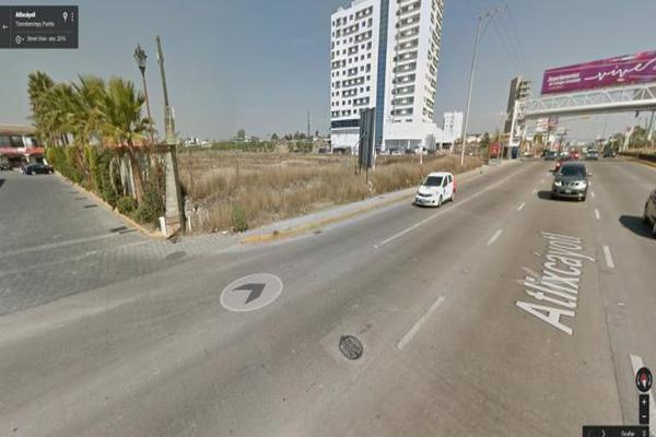 Foto de terreno habitacional en venta en v?a atlixc?yotl 9, atlixcayotl 2000, san andrés cholula, puebla, 8872923 No. 01