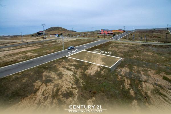 Foto de terreno habitacional en venta en valle de anahuac lote-6 manzana 20 , real de rosarito ii, playas de rosarito, baja california, 12813400 No. 03