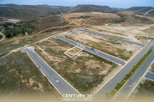 Foto de terreno habitacional en venta en valle de anahuac lote-6 manzana 20 , salinas de gortari, playas de rosarito, baja california, 12813400 No. 01