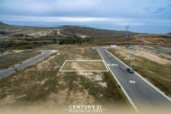 Foto de terreno habitacional en venta en valle de anahuac lote-6 manzana 20 , salinas de gortari, playas de rosarito, baja california, 12813400 No. 02