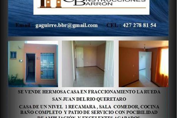 Foto de casa en venta en  , valle de oro, san juan del río, querétaro, 7987681 No. 01