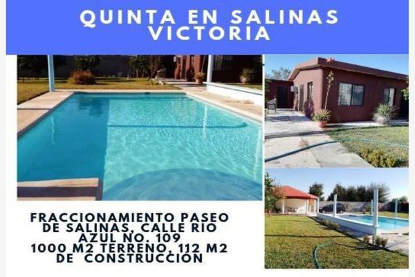Foto de rancho en venta en  , valle de salinas, salinas victoria, nuevo león, 8434372 No. 01