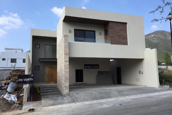 Foto de casa en venta en valle del cristal 100, valles de cristal, monterrey, nuevo león, 12274593 No. 01