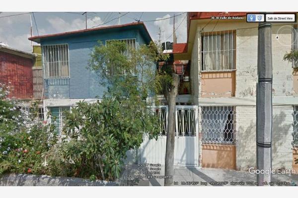Foto de casa en venta en valle del rodano 30, valle de aragón, nezahualcóyotl, méxico, 5374345 No. 01