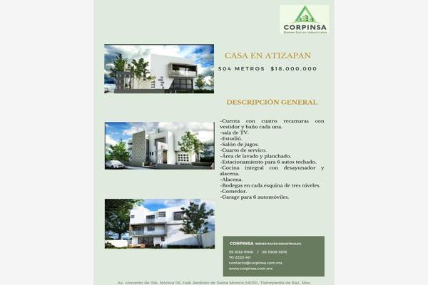 Foto de casa en venta en  , valle escondido, atizapán de zaragoza, méxico, 8679305 No. 04