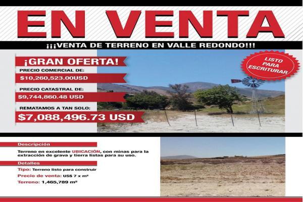 Foto de terreno industrial en venta en valle redondo 0, margarita residencial, tijuana, baja california, 8436756 No. 01