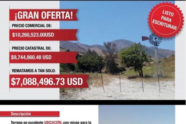 Foto de terreno industrial en venta en valle redondo 20, valle redondo, tijuana, baja california, 8436756 No. 01