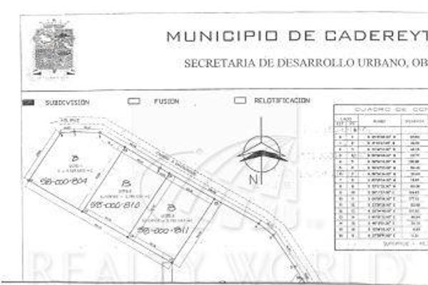 Foto de terreno habitacional en venta en  , valles del rey, cadereyta jiménez, nuevo león, 7917588 No. 01