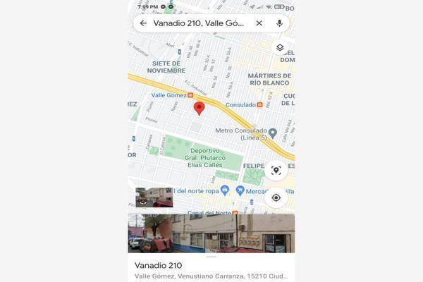 Foto de terreno comercial en venta en vanadio 210, valle gómez, venustiano carranza, df / cdmx, 0 No. 04