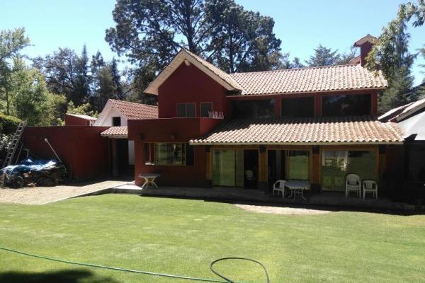 Foto de casa en venta en vega del campo 100, avándaro, valle de bravo, méxico, 3051888 No. 01