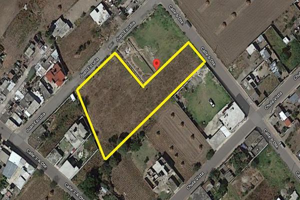 Foto de terreno habitacional en venta en venta de solar urbano 3, 307m2 en acajete santa isabel tepetzala , santo entierro, acajete, puebla, 0 No. 01
