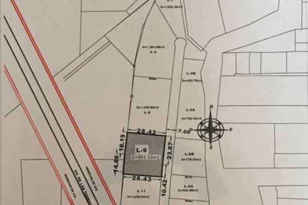 Foto de terreno habitacional en venta en venta de terreno semiurbano 1005m en boulevard las torres , san martinito, san andrés cholula, puebla, 5402977 No. 03
