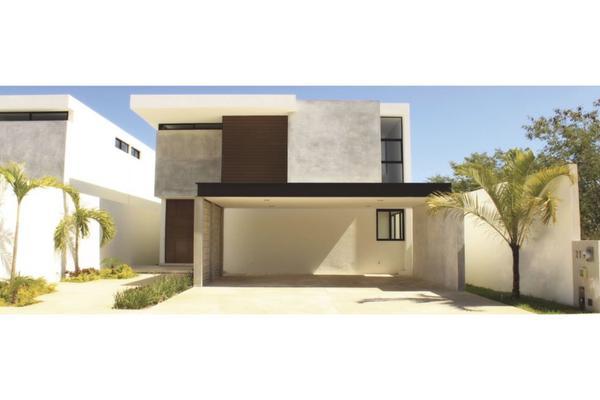 Foto de casa en venta en  , verde limón conkal, conkal, yucatán, 10075342 No. 01