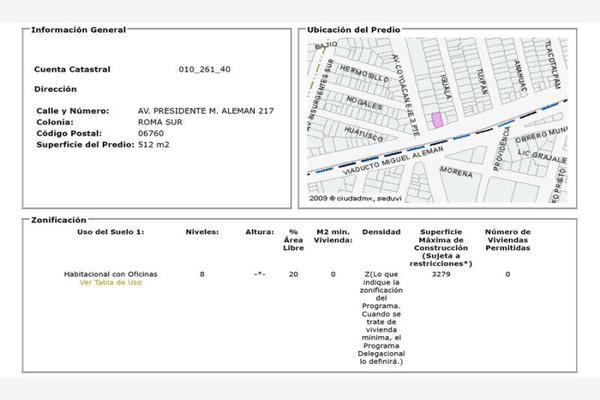 Foto de edificio en venta en viaducto miguel alemán 217, roma sur, cuauhtémoc, df / cdmx, 0 No. 03